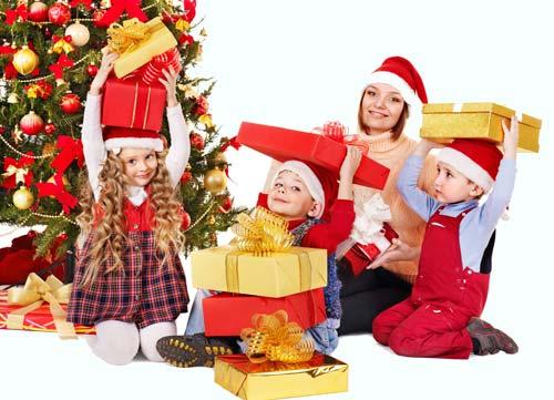 Новогодние подарки для детей 2021