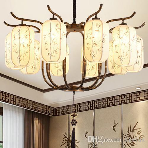 светильников в китайском деревенском стиле