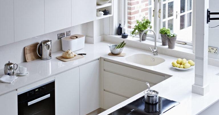 Идеи для украшения маленькой кухни.