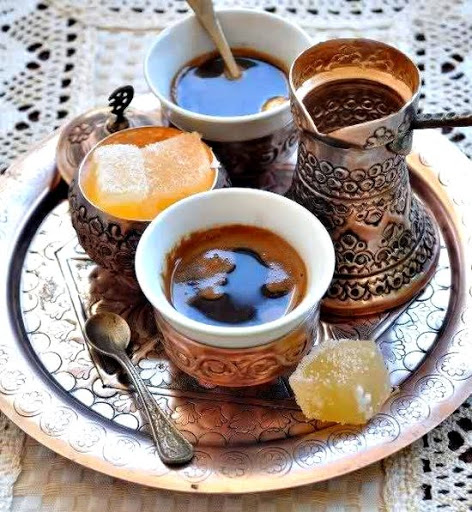 Пить кофе в Боснии