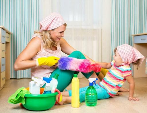 Обучение детей бытовым навыкам