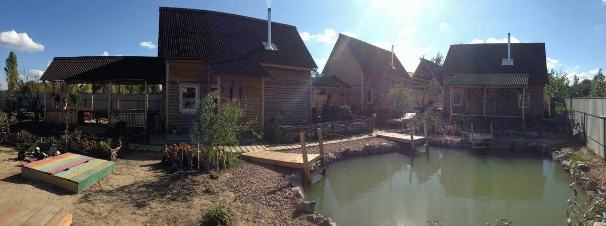 Банный двор – это  баня на дровах